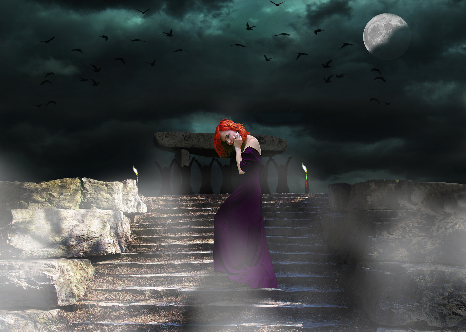Invitation à participer à la fête druidique du solstice d'été....