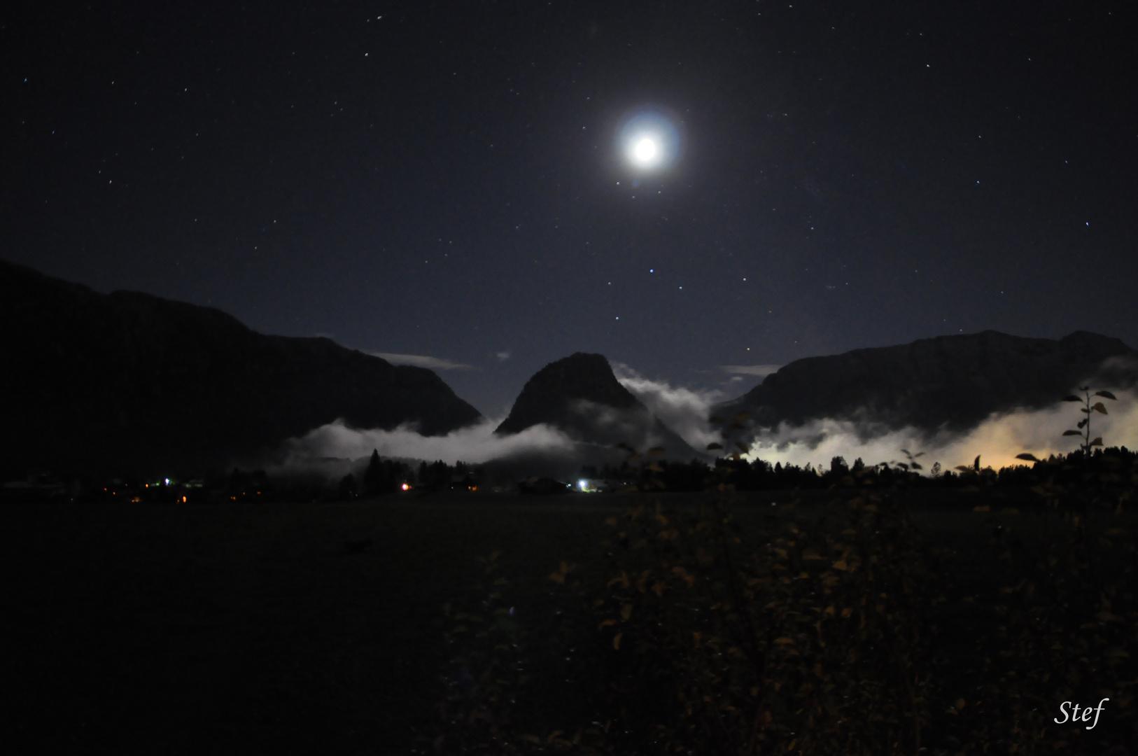 Inzell bei Nacht
