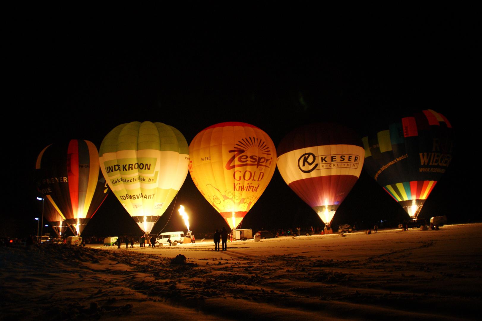Inzeller Ballonglühen 2012