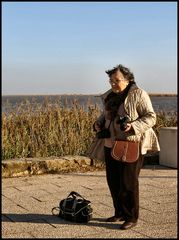Io al vento....un bel ricordo di una bella giornata di foto, vicino al fiume Tejo