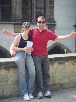 io e Gianni a Praga