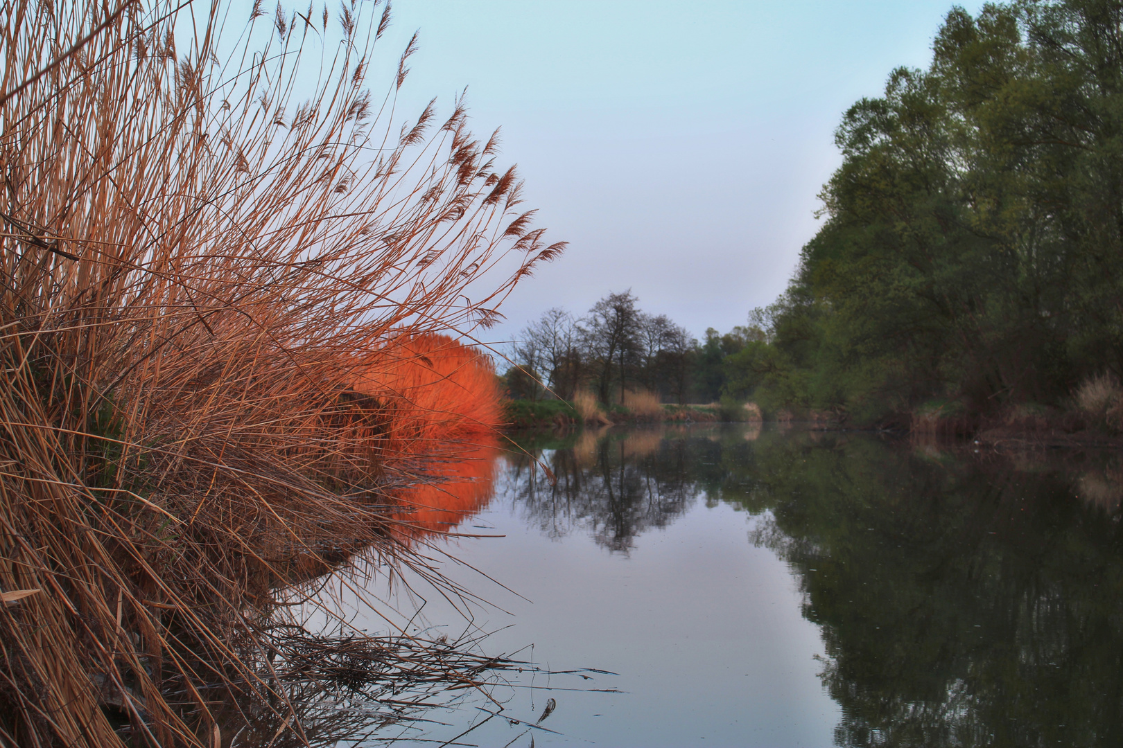 Ipoly - Sonnenuntergang im Frühling 4