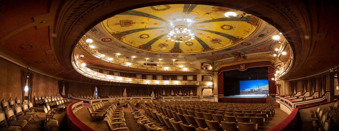 Iquique Municipal Theater Pano