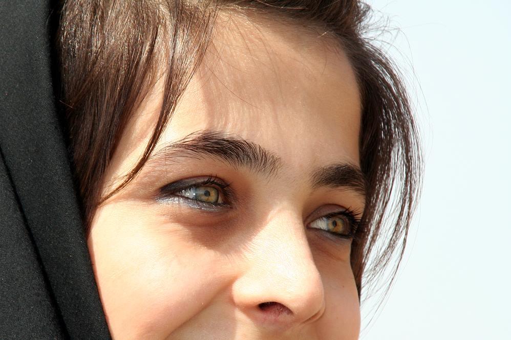 Iranische Studentin