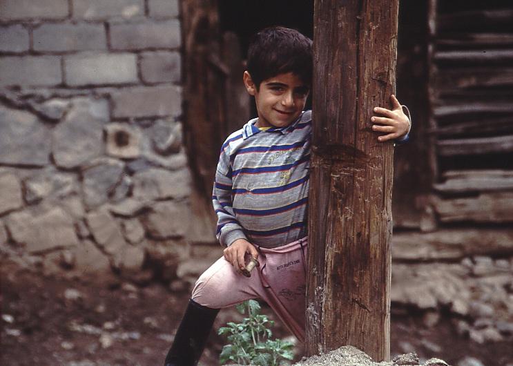 Iranischer Junge