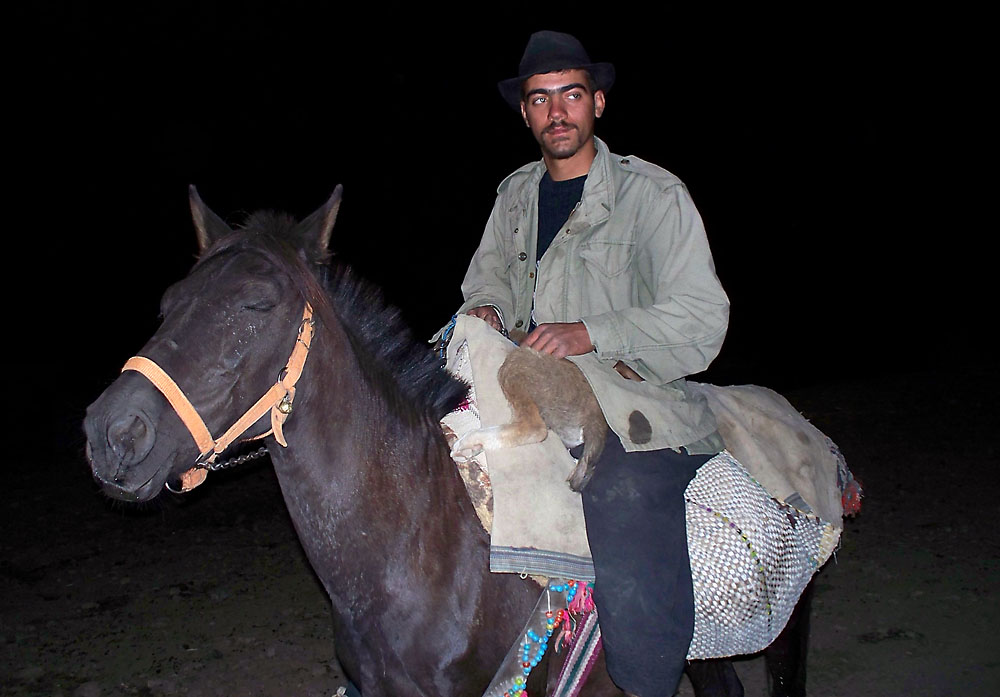 Iranischer Reiter