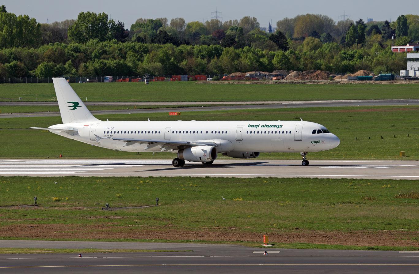 Iraqi Airways Airbus A321