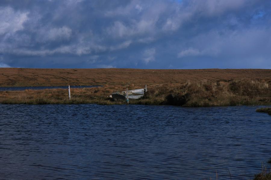 ... irgendein Boot in Schottland ...