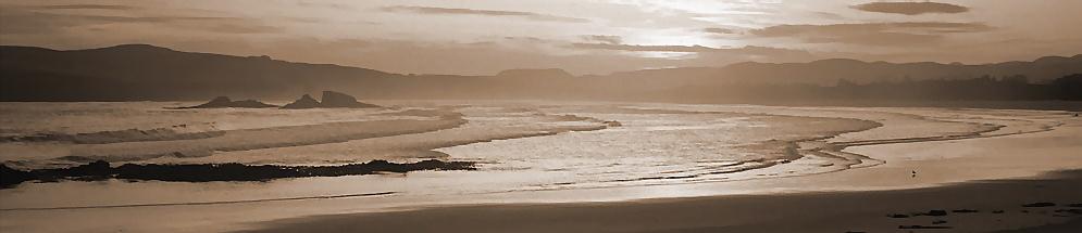 irgendeine Bucht in New Zealand