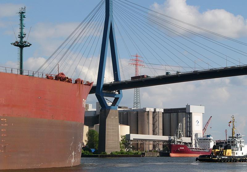 Irgendwann muss die Brücke dran glauben:-)))