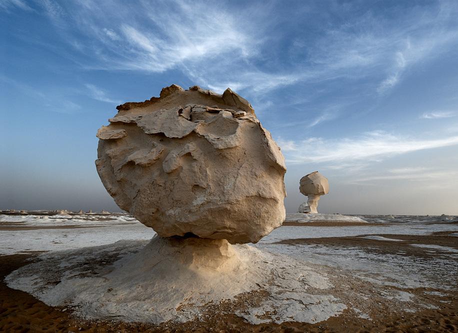 """Irgendwo in der """"Weißen Wüste"""""""