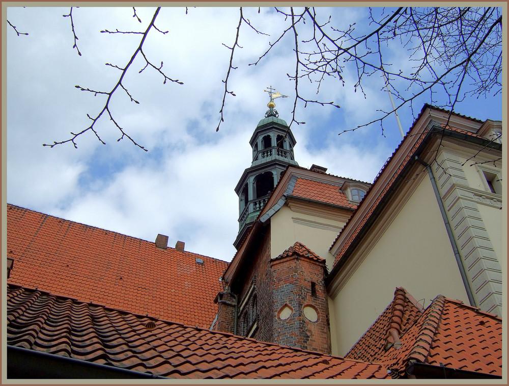 Irgendwo in Lüneburg von unten nach oben