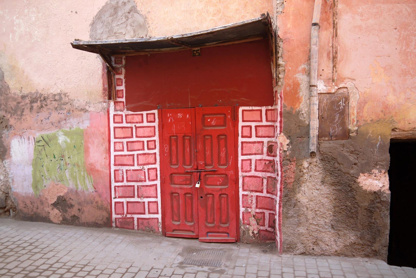 Irgendwo in Marrakesch gesehen ...