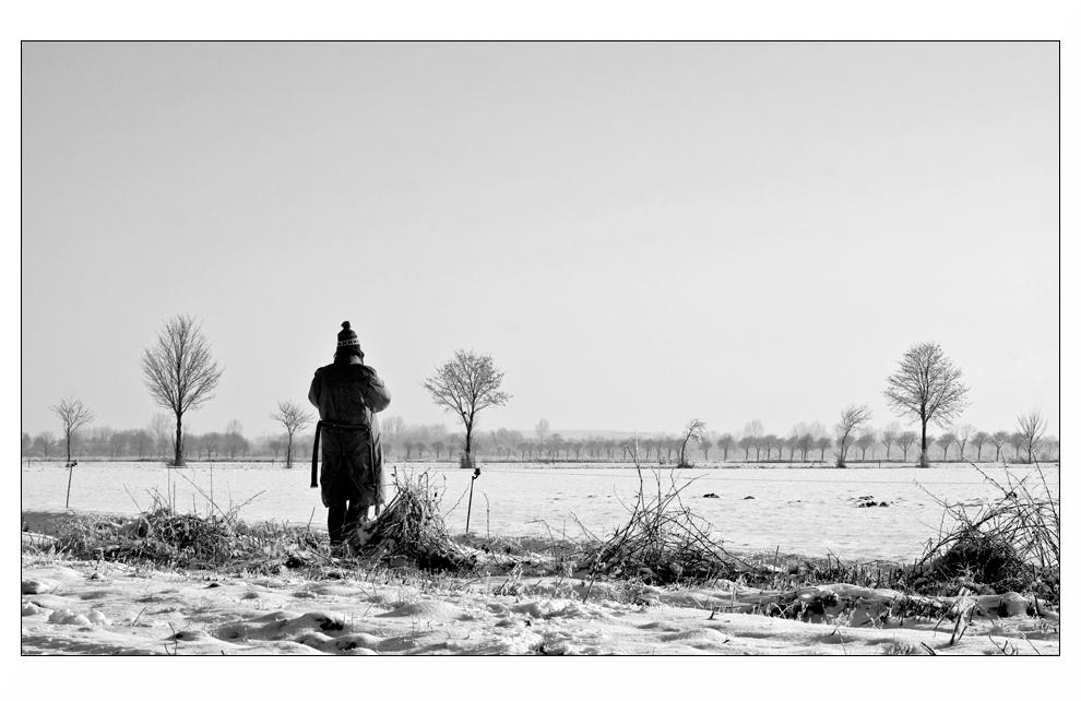 Irgendwo in Ostfriesland im Winter