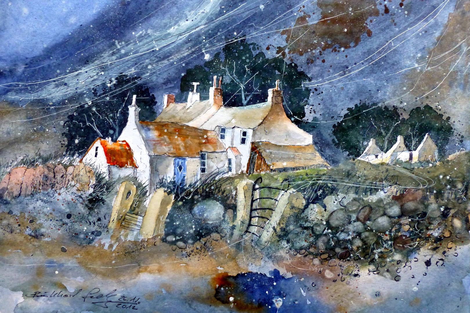 Irische Häuser