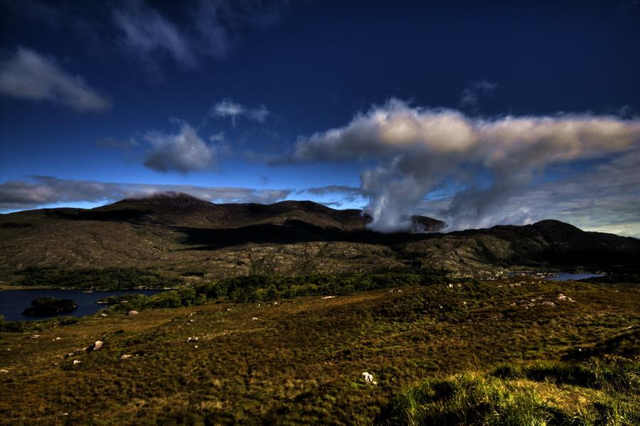 irische Wolken...