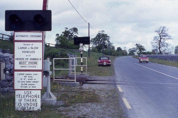 Irischer Bahnübergang 1971