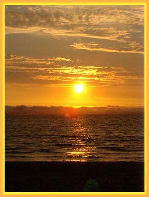 Irischer Sonnenuntergang