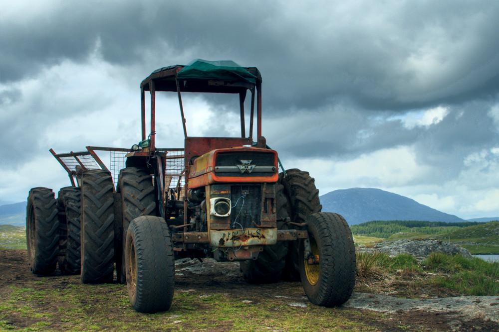 irischer Traktor