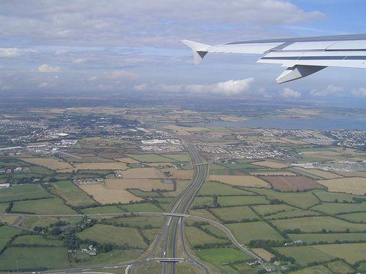Irland aus der Luft