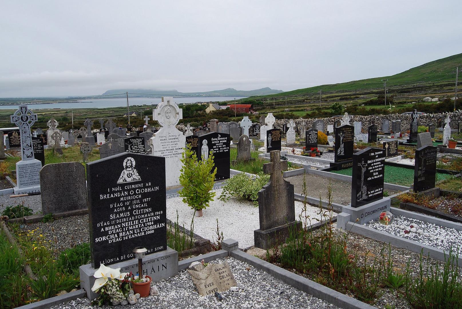 Irland - der Friedhof