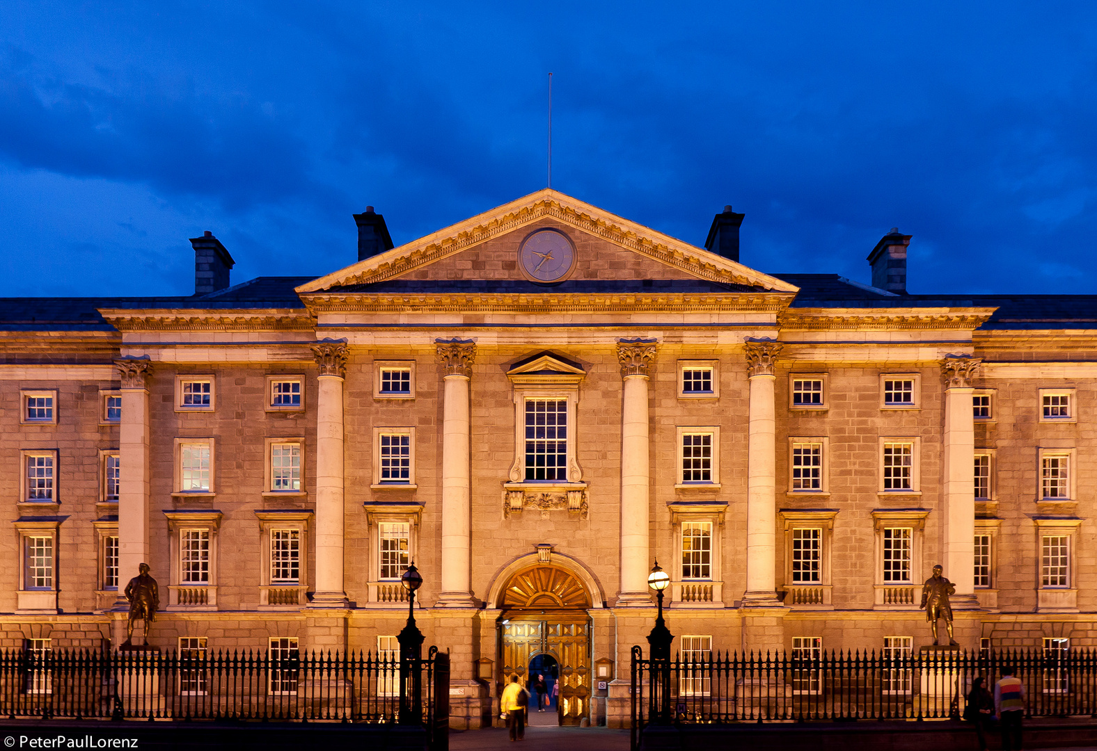 Irland. Dublin. Trinity College