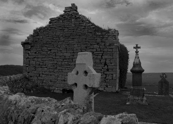 Irland Friedhof im Burren