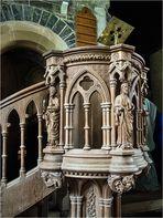 Irland, Kanzel der Clonfert Cathedral