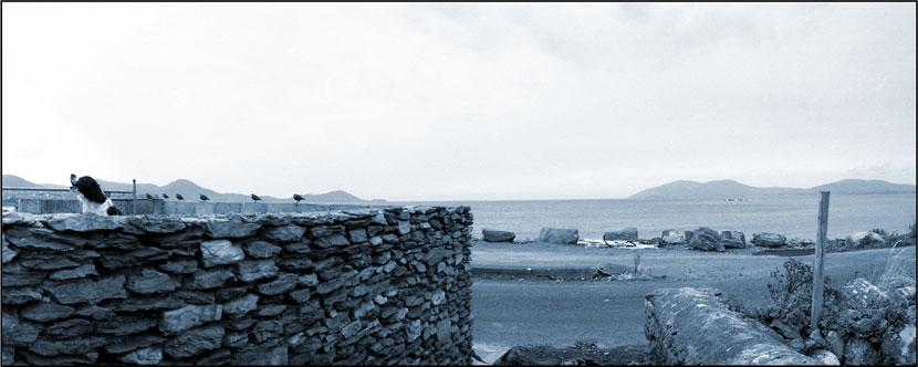 Irland, Kerry, Waterville, Nähe Strandpromenade