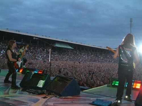 Iron Maiden konsert in Sweden