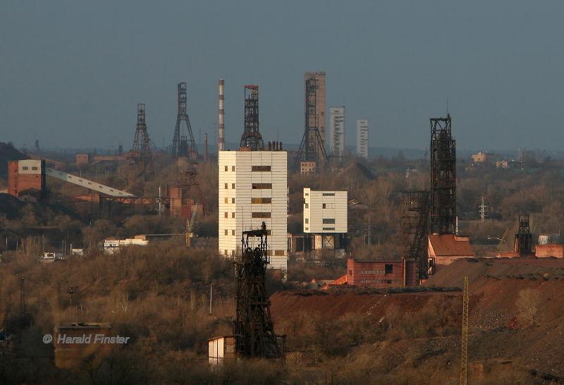 iron ore mining Krywyj Rih/Krivoy Rog