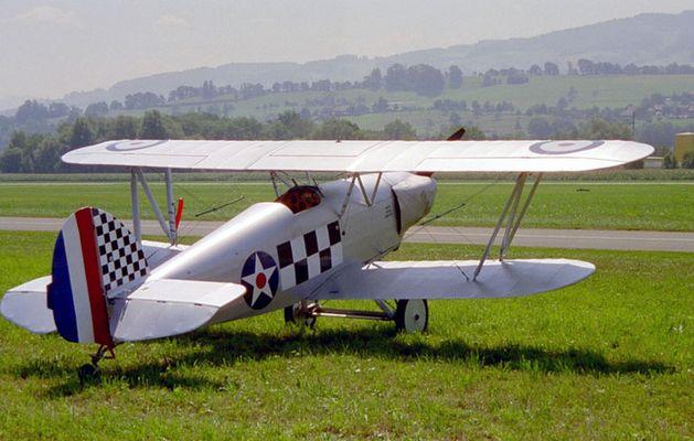 Isaacs Hawker Fury II - N37896