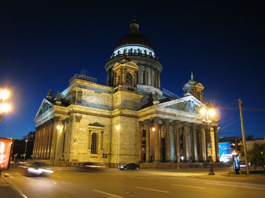 Isaacs Kathedrale St. Petersburg