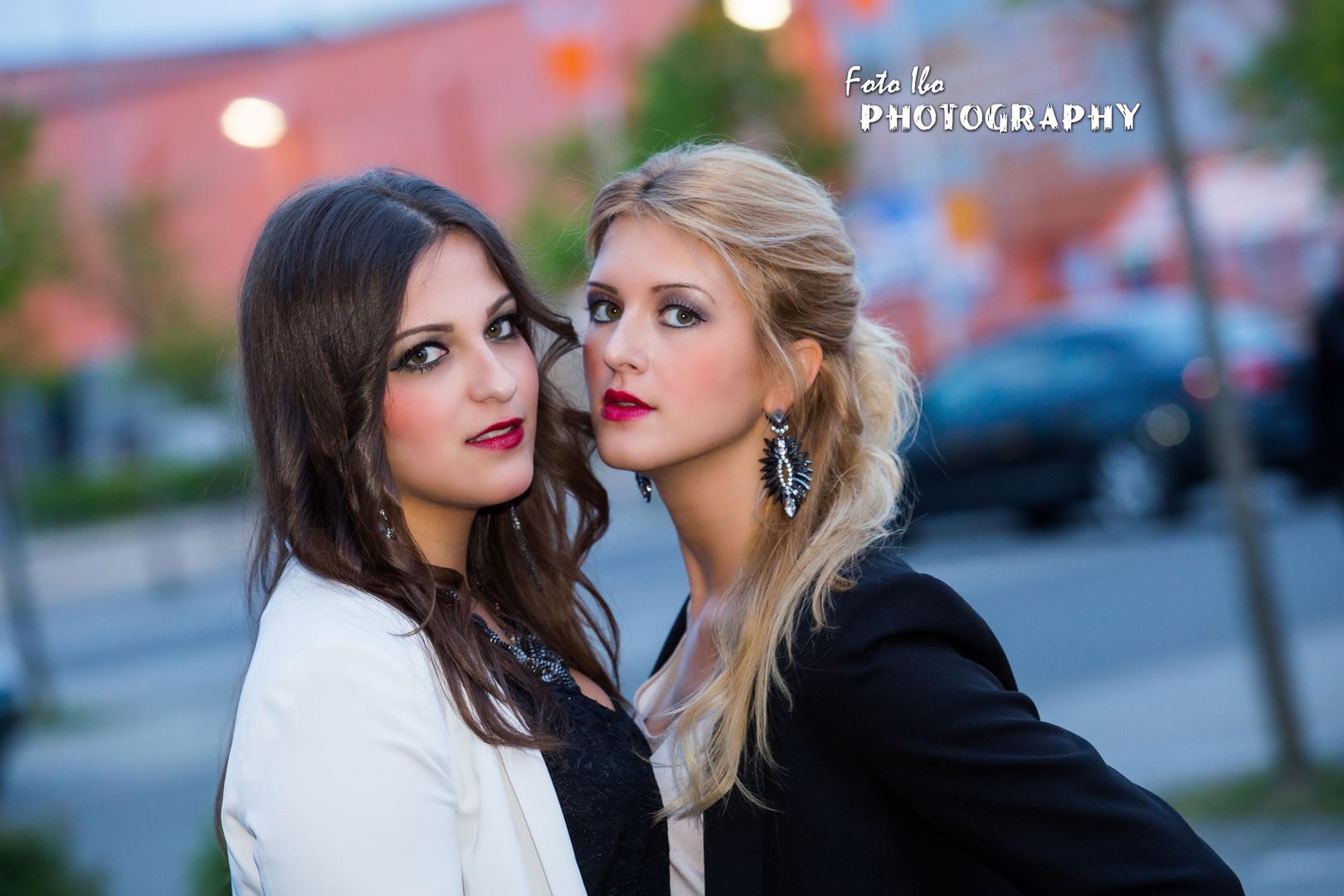 ..Isabel und Nicole