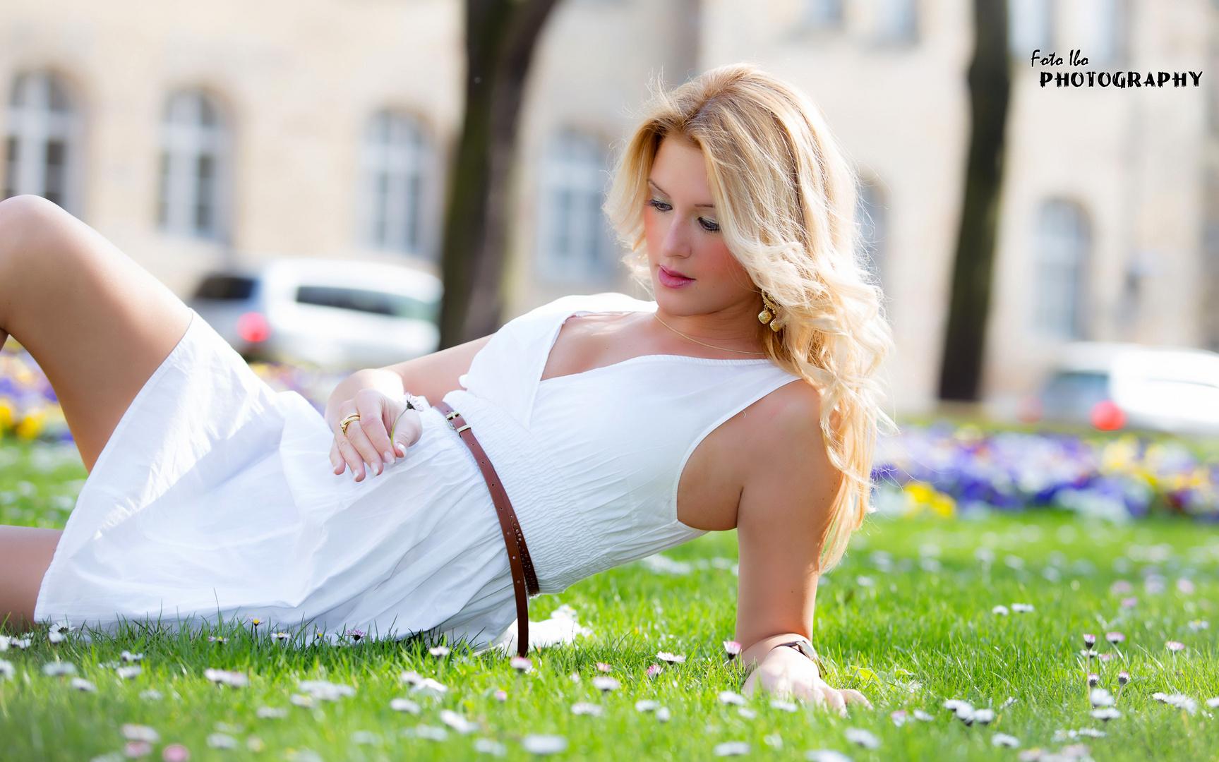 Isabell auf der Blusenwiese