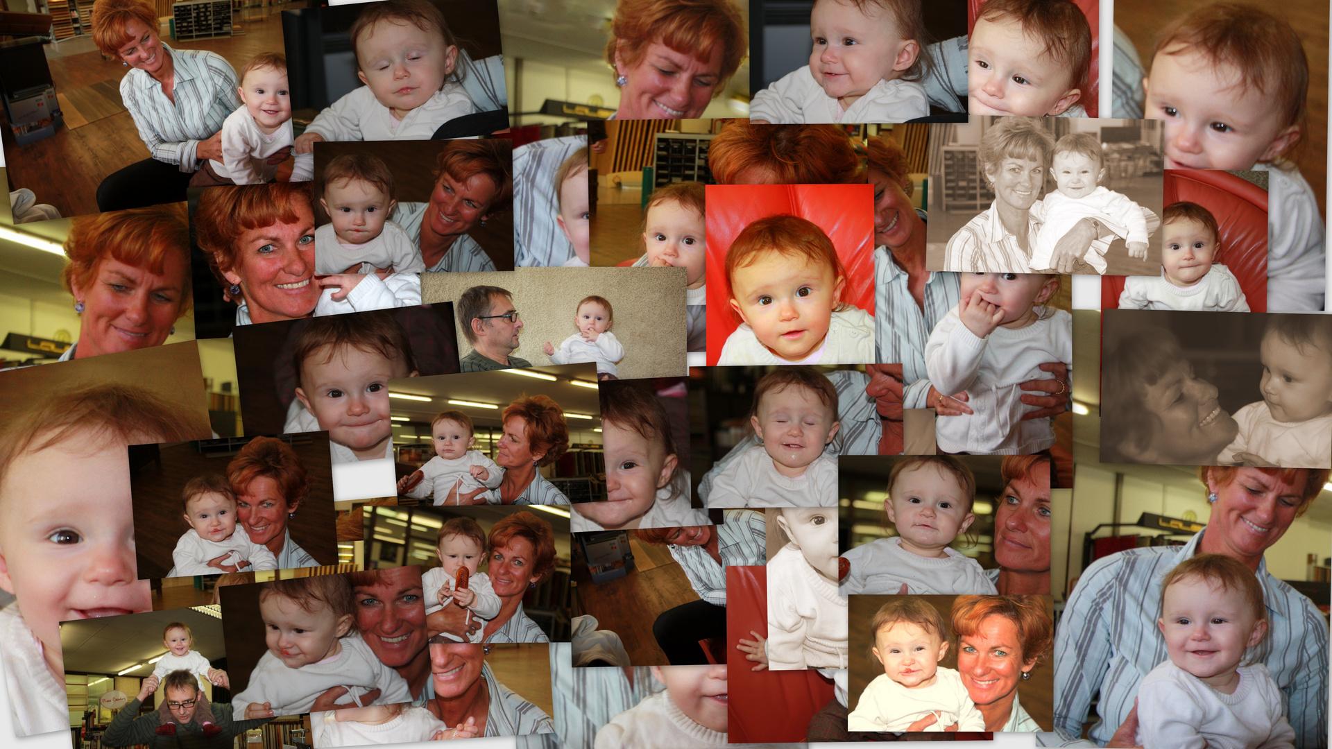 Isabelle erstes Weihnachtsfest 2010