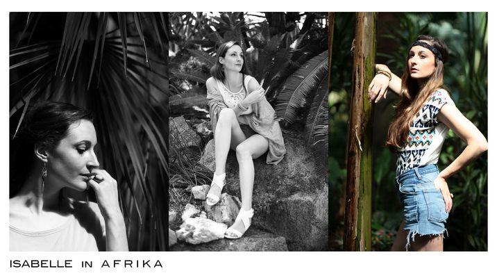 Isabelle in Afrika * Savanne und Dschungel