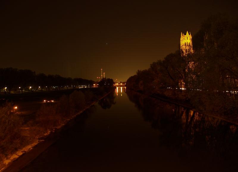 isar bei nacht