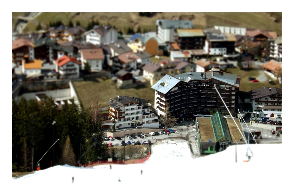 ISCHGL - Talabfahrt ... mal anders