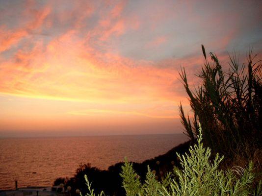 ischia sundown