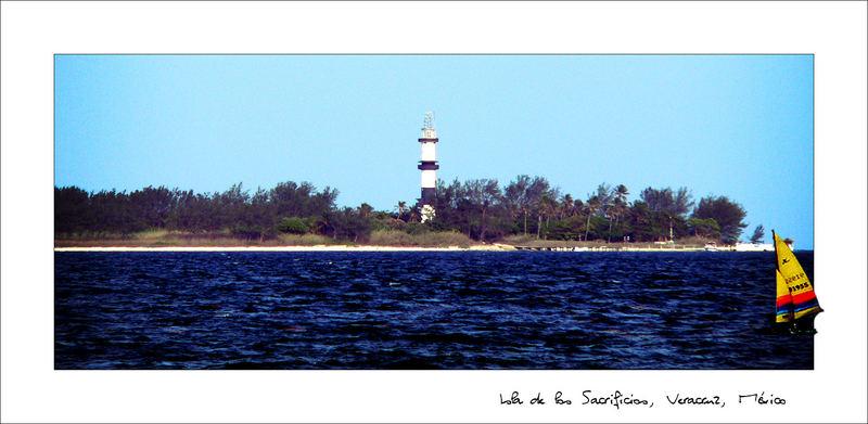 Isla de los Sacrificios Veracruz, México