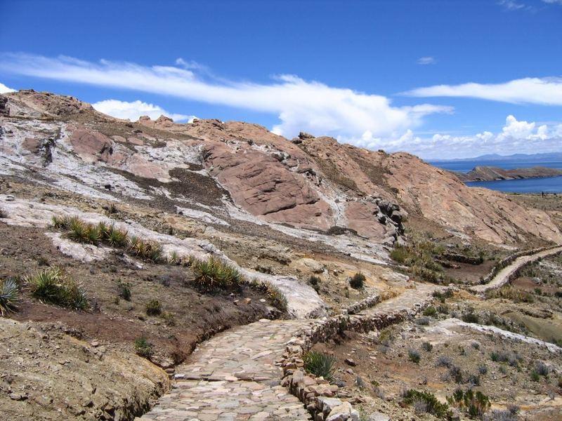 Isla del Sol, Titicacasee