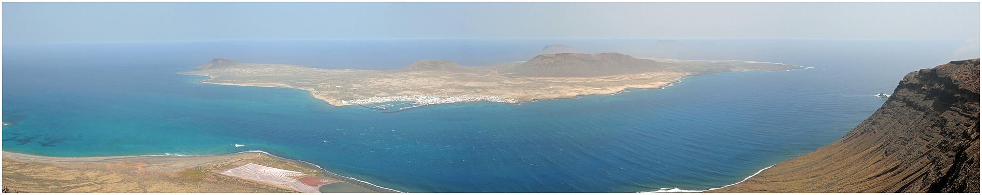 Isla Graciosa e Islotes del Norte