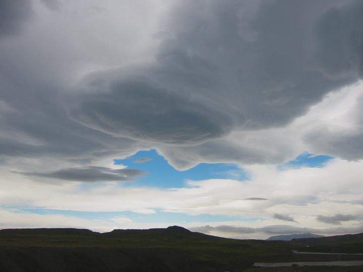 Isländischer Himmel