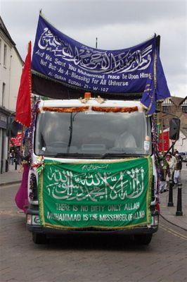 Islamische Prozession zum Geburtstag von Mohamed - High Wycombe - 3.1