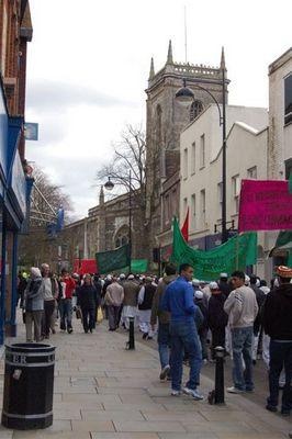 Islamische Prozession zum Geburtstag von Mohamed - High Wycombe - 5