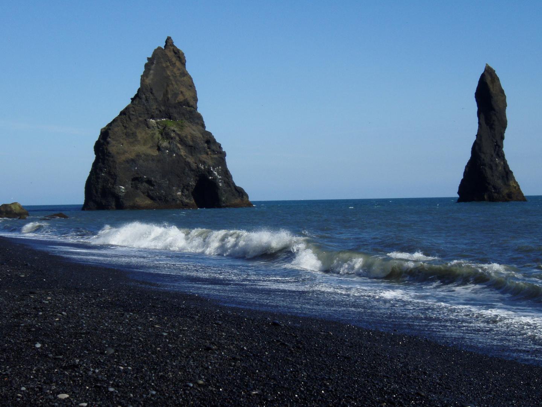 Island 2009 Strand bei Vik