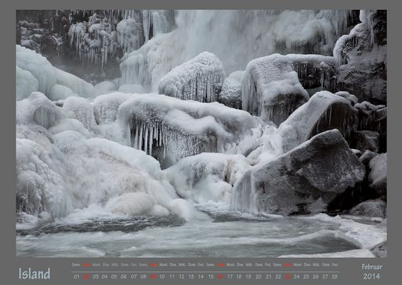 Island Februar 2014