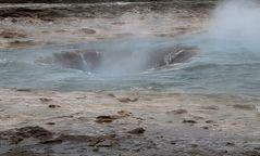 Island - Geysir Strokkur (Butterfass)