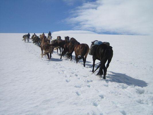 Island - Gletscherüberquerung